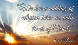 Christian Sympathy Quotes C.s. lewis quote