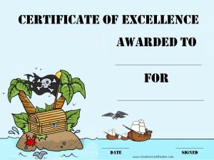 Funny Golf Awards Certificates