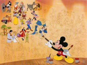 Walt Disney: Disney's Mural of Memories