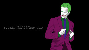 Barney Stinson As The Joker Quote HD wallpapers