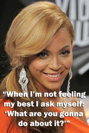 Beyonce - Inspirational quotes: Wise words from famous women