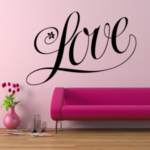 tweet love wall sticker quote wall stickers from abode wall art