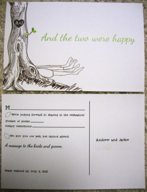 The Giving Tree wedding invitations might make you cry