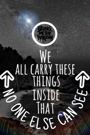 Galaxy Bring Me the Horizon Quotes