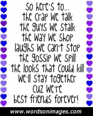 Goofy Best Friend Quotes