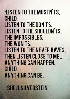 Best Children's Book Quotes. One of my favorites from when I was a ...