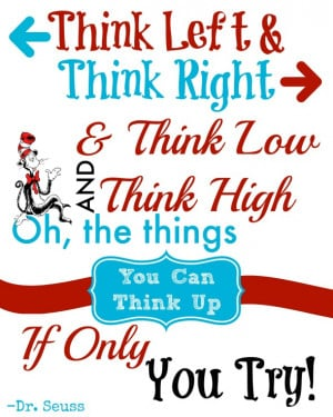 Printable Dr. Seuss Quote / by Busy Mom's Helper #DrSeuss #Printable ...