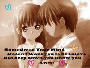 Anime Couples Cute Love Quotes