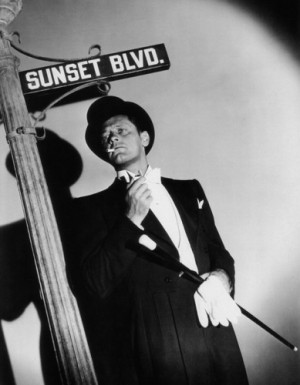 "William Holden publicity shot for ""Sunset Boulevard"" (1950)"