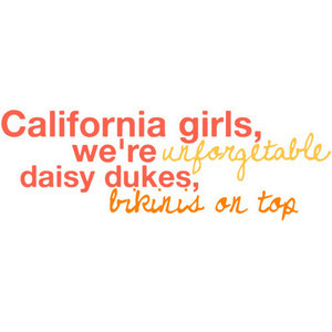 California Girls-Katy Perry lyrics by Rachel