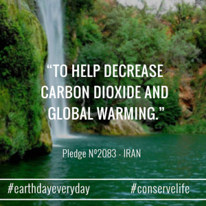 To help decrease carbon dioxide and global warming