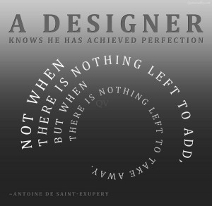 Design Is Not Just What It Looks And Feels Like