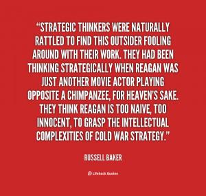 Strategic Thinking Quotes