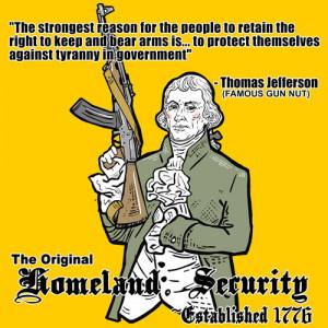 Thomas Jefferson On Gun Ownership