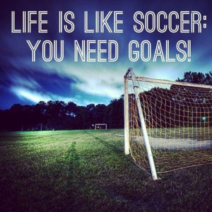 Soccer quote.