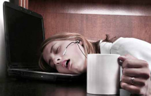 Funny tired person pictures