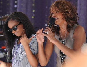 Bobbi Kristina Brown, Whitney Houston's 21 year old daughter, was ...