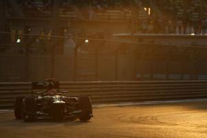 Caterham F1 Team Yas Marina Circuit race review