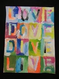 Jasper Johns Inspired Word Ladder #iLA Inspired Living (MOBILE APP ...