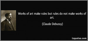 Debussy Quotes