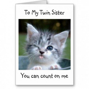 Happy Birthday Twin Sister Quotes Birthday to Twin Sister