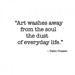 ... washes away from the soul the dust of everyday life.