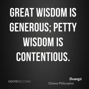 Zhuangzi Wisdom Quotes