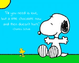 snoopy quotes about love
