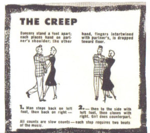 well known dance that the Teddy Boys adopted was ' The Creep ', a ...