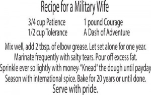 ... Military Wife-Home & Art Family Wall Decal Quotes - Wall Decor