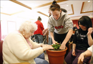 Cardinal Stritch Students Help Senior Citizens Mark Earth Dayjpg ...