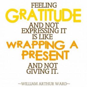 Soulful Sunday: Life is Short, Practice Gratitude