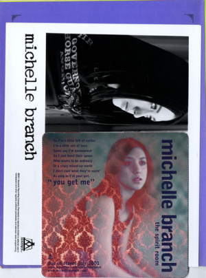 Michelle Branch, The Spirit Room Press Pack, USA, media press pack ...