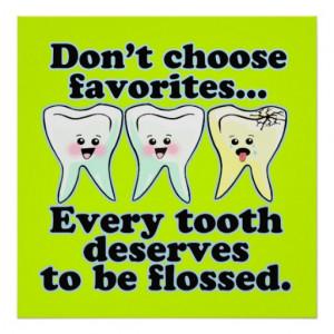 Funny Dental Office Custom Artwork Posters
