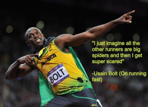 Usain Bolt Running Quotes -via usain bolt @usainbolt
