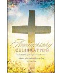 church anniversary bulletins
