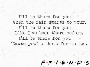 Friends Forever, Friends Theme Songs, Favorite Quotes, Lyrics, Friends ...
