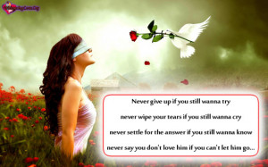 Go Back > Gallery For > I Will Never Let You Go Quotes For Him