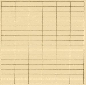 Agnes Martin – In a bright day - Drawing - 1973