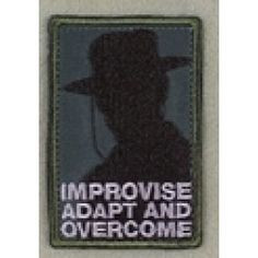 Heartbreak Ridge - Improvise, Adapt and Overcome Patch More
