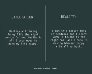 expectation vs reality quotes source http invyn com expectation quotes