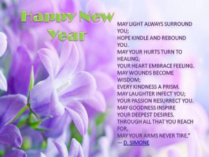New Year Blessings For Loved Ones.