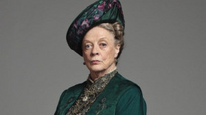 WINNER: Maggie Smith, Downtown Abbey