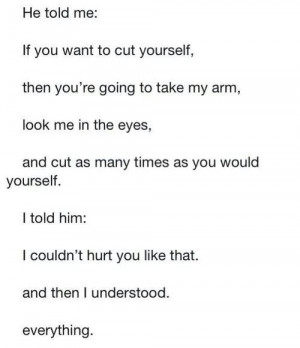 Self Harm Quotes And Sayings Lets stop self harm.
