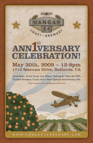10 Year Company Anniversary Quotes http://www.hangar24brewery.com/news ...