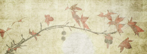 Paper texture with painting of tree for facebook timeline background ...