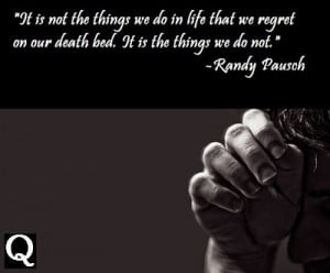 Randy Pausch was an American professor who gave a lecture and wrote a ...