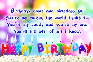 happy birthday to dear happy birthday quotes for cousin brother happy ...