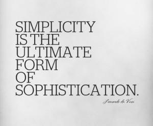 Handy's World: Keep it Simple, Keep it Classy