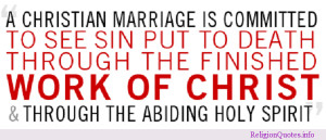 """13 Awe Inspiring Christian Marriage Quotes . 1. """"Falling in love is ..."""